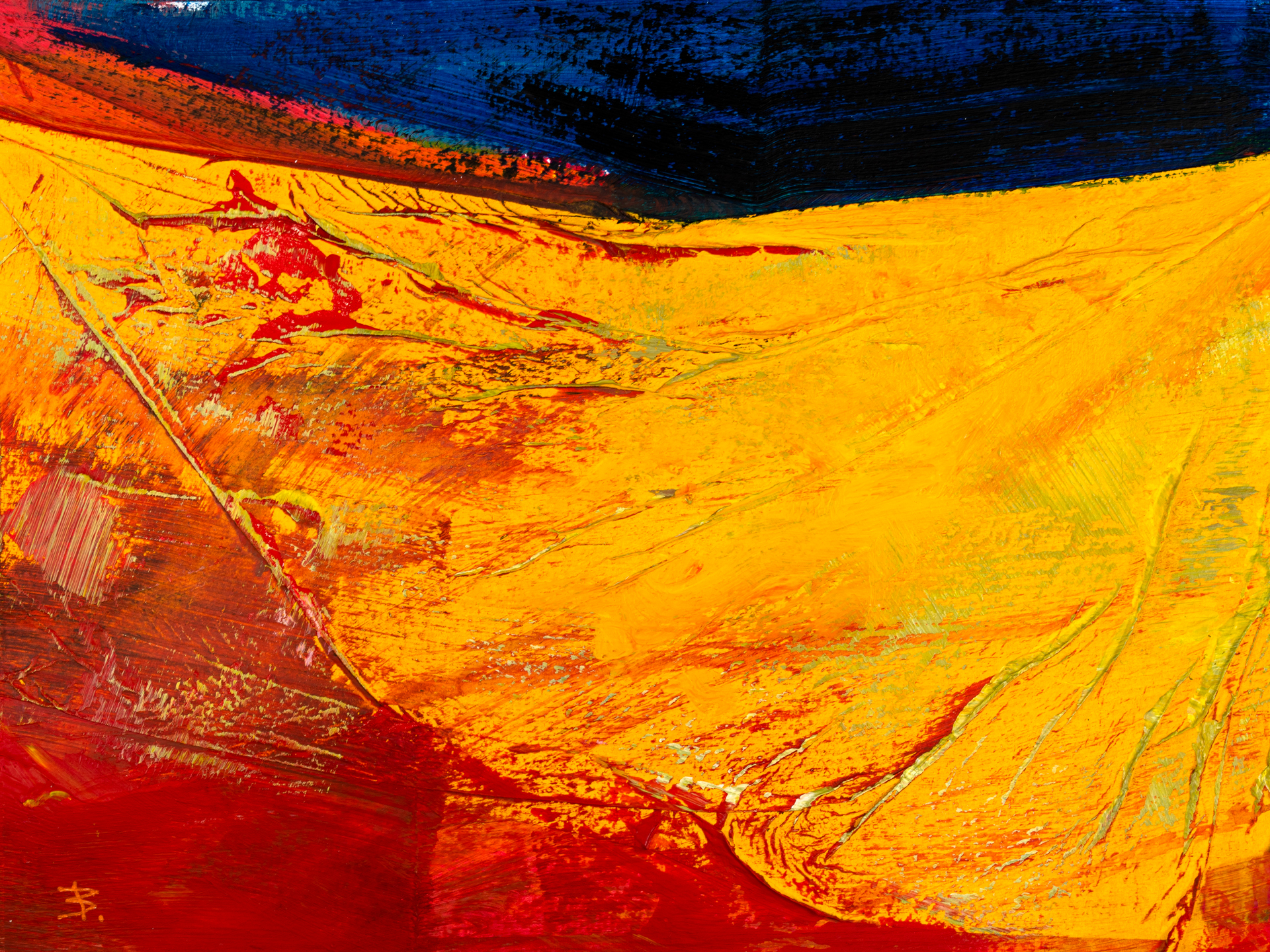Red_Yellow_and_Blue_10220_7_24x32, © Ernest Bisaev